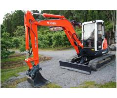 Mini escavatore Kubota kx 161-3,2007