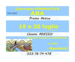 Giornate Formative ABA - 19 e 20 Luglio