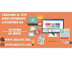 Creiamo il tuo sito web in modo veloce e professionale