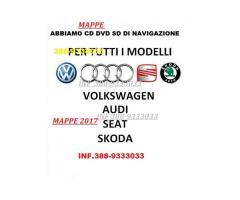 Mappe Navigatore AUDI MMI- Volkswagen