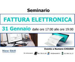 Seminario: Fattura Elettronica