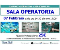 Giornata Formativa Personale in Sala Operatoria