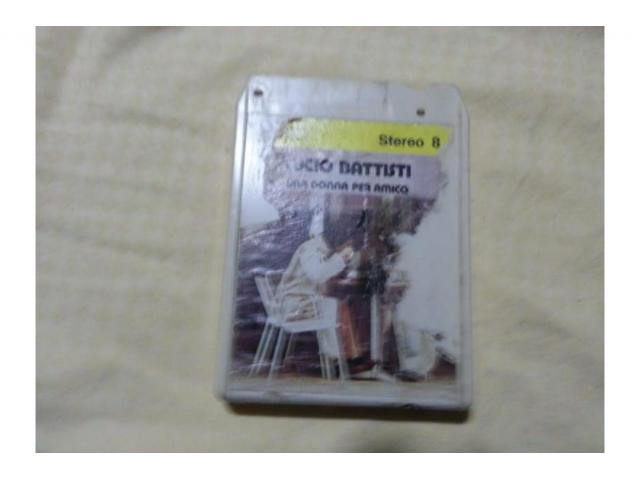 Cassette stereo 8