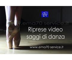 RIPRESE VIDEO SAGGI DI DANZA