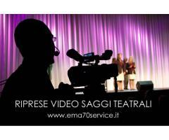 RIPRESE VIDEO SPETTACOLI TEATRALI