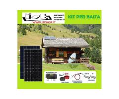 Pannello Fotovoltaico  per Baita kit completo A SOLI  €205