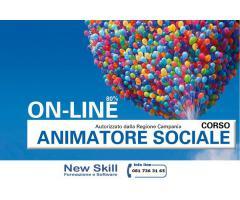 Corso di Animatore Sociale alla New Skill