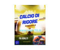 NOLEGGIO CALCIO DI RIGORE GIGANTE GONFIABILE