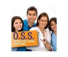 CORSO OPERATORE SOCIO SANITARIO OSS e 3°S