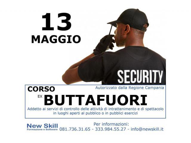 Corso Ex Buttafuori alla New Skill