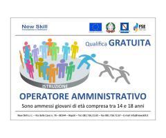 Corso Operatore Amministrativo Gratuito