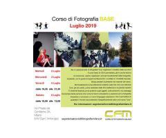 corso base di fotografia Milano
