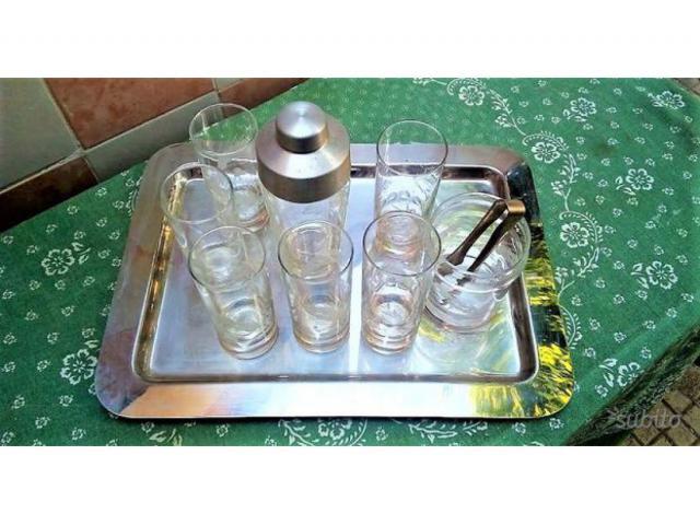 Set Bicchieri Di Vetro IN CRISTALLO