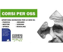 CORSO PER OPERATORE SOCIO SANITARIO Verona (VR)