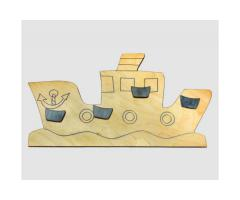 appendiabiti in legno - ship
