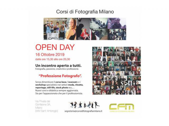 Open Day Fotografia