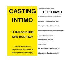 Lingerie - Casting a Milano