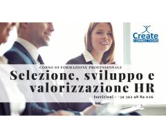 Selezione, sviluppo HR