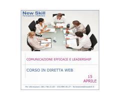 Corso Comunicazione Efficace e Leadership in diretta Web
