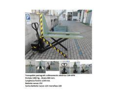 Transpallet sollevamento elettrico pantografo