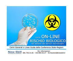 Corso Rischio Biologico nei servizi Necroscopici On-Line