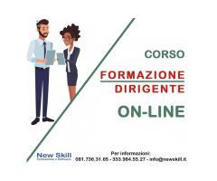 Corso Formazione Dirigente On-Line