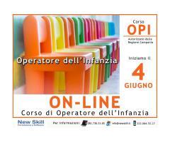 Corso OPI Operatore dell'Infanzia On-Line