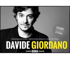 Preparazione Accademie Nazionali con Davide Giordano