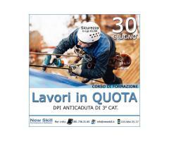 Corso Lavori in Quota - 30 Giugno 2020