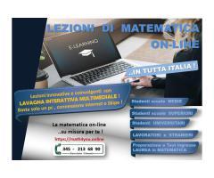 Matematica - preparazione a test di ingresso e concorsi