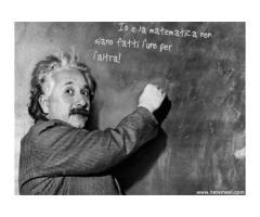 Io e la matematica non siamo fatti l'uno per l'altro/a!