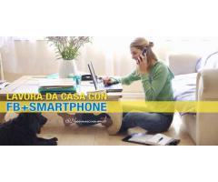 GUADAGNA DA CASA CON FB + SMARTPHONE