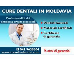 Dentisti in Moldavia - Risparmio e qualità garantiti