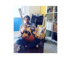 Lezioni di Chitarra e di musica (pop, classica, Composizione)