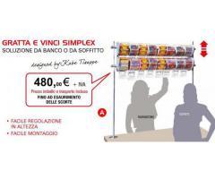 Dettagli su  Espositore Gratta e Vinci - Da banco o soffitto