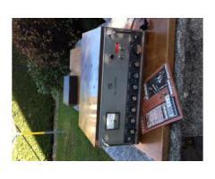 amplificatore marca:Geloso transistorizzato