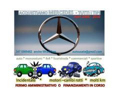 Mercedes auto berline usate acquisto