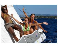 Addii al Nubilato o al Celibato in Barca a Vela