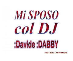 MATRIMONIO COL DJ ANIMAZIONE MUSICA E SPETTACOLI