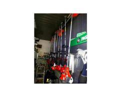 Stock attrezzature, ferramenta, giardinaggio e agricoltura