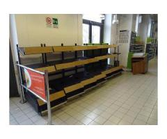 Vendita attrezzature e arredamento supermercato