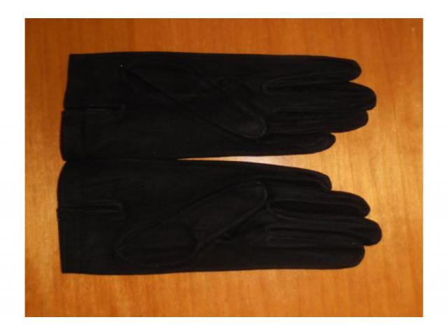 stock guanti in pelle scamosciata