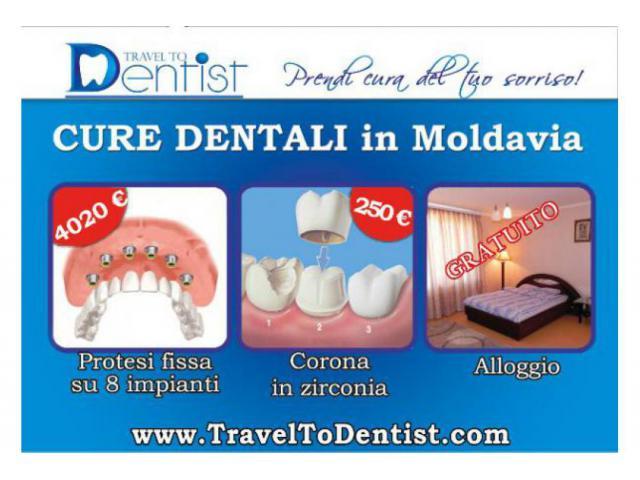 Dentisti in Moldavia - Professionalità a prezzi accessibili