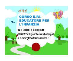 CORSO EDUCATORE PER L'INFANZIA E.P.I.