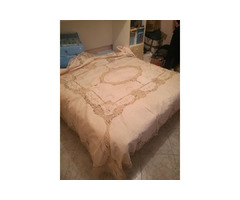 Lenzuola di lino del corredo