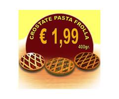 Qualità e convenienza calabrese: le Crostate di pasta frolla.