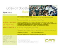 Aprile Corso di Fotografia