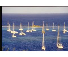Caraibi in barca a vela