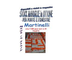 Stock maniglie in ottone Martinelli