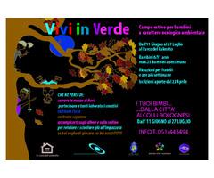 VIVI IN VERDE - Campo estivo 2018